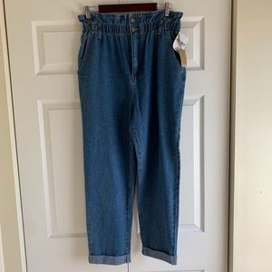 Forever 21 Denim Ankle Pants, Size 30 NWT